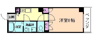 ODESSA北梅田 の間取り