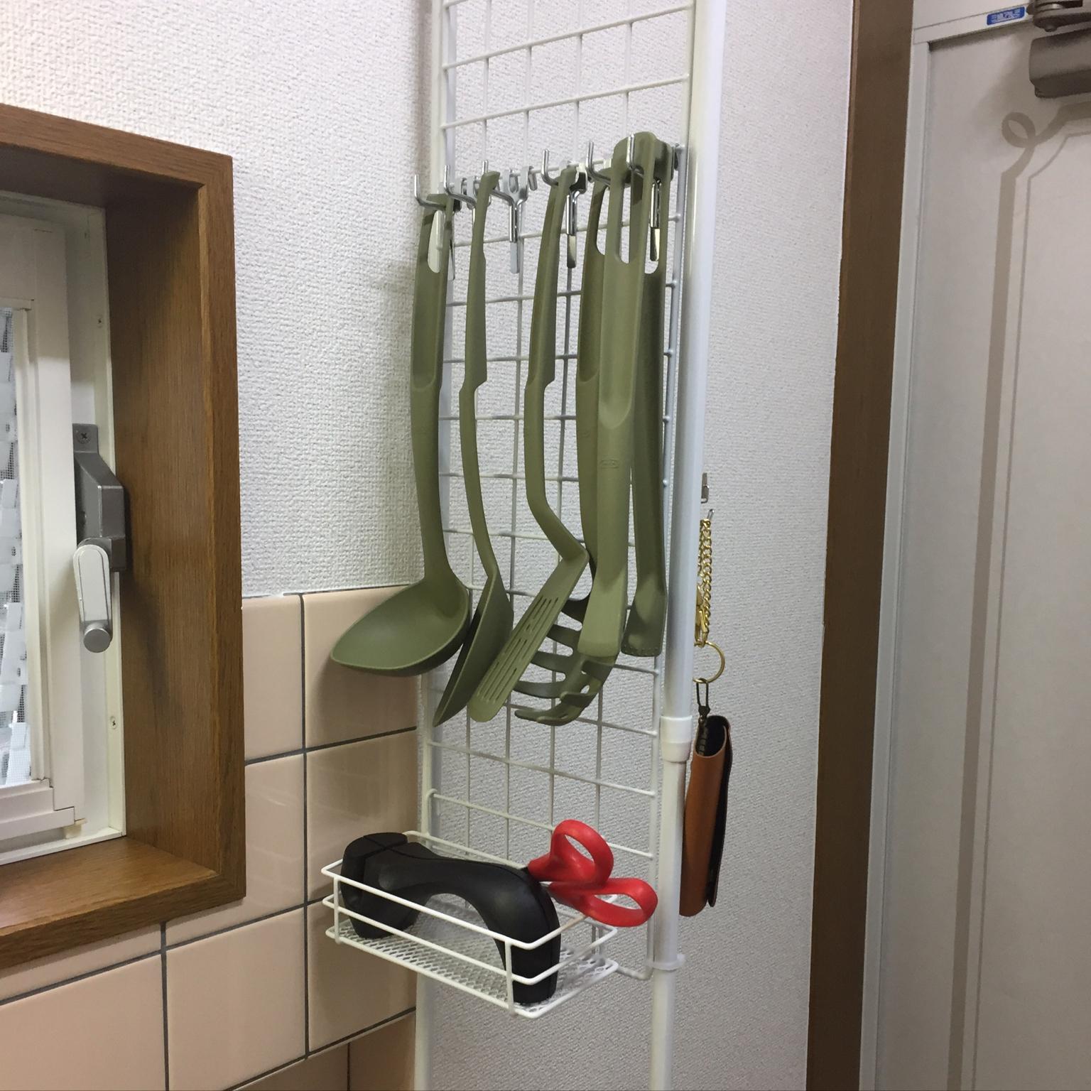 Kitchen/無印良品/ダイソー/IKEA/100均/DIY/一人暮らし/セリア/狭いキッチンに関連する部屋のインテリア実例