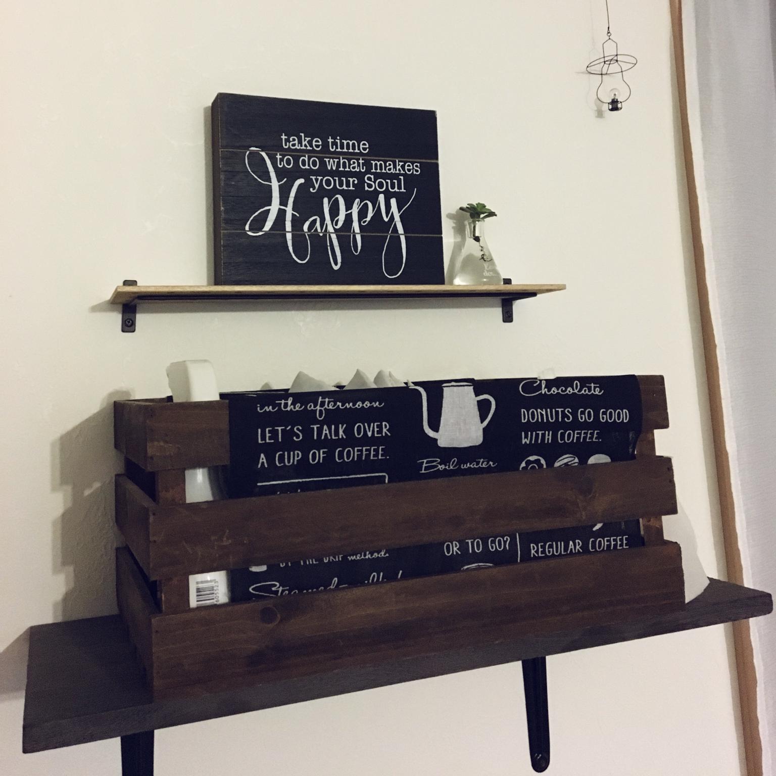 My Shelf/DIY/多肉植物/ニトリ/セリア/壁紙屋本舗さん/犬と暮らす/こどもと暮らす/建売り一戸建て/建売り改造/日替わり投稿企画!木曜日に関連する部屋のインテリア実例
