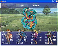 RPG Maker XP battle screenshot