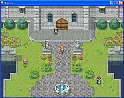 Your own rpg game looks professional with the expanded sample data included in RPG Maker XP