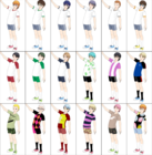 ComiPo! Summer Uniforms & Sportswear