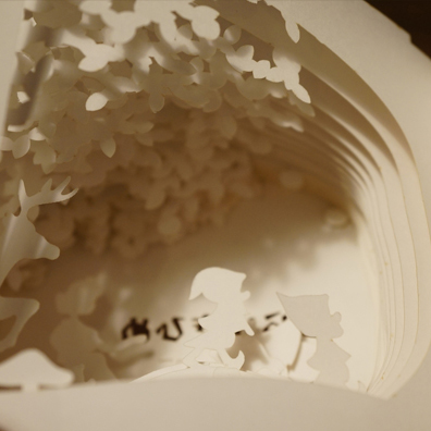 "360°book ""snow white"""