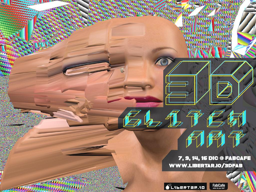 3D Glitch Art