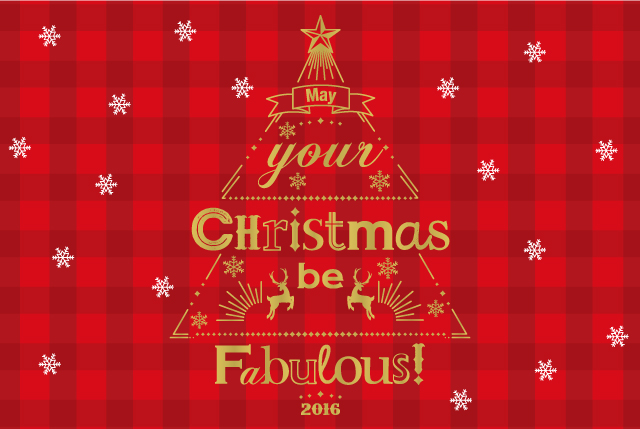 May Your Christmas Be Fabulous!