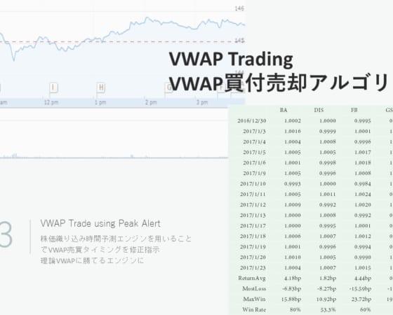 VWAP 買付売却プログラム