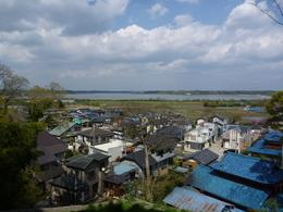 <p>臼井城本丸から印旛沼方面を撮影。<br>当時の臼井城は印旛沼に面していたが、その様子が想像できる。</p>