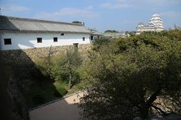 <p>姫路城百間廊下から天守を撮影。</p>