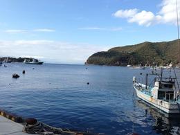 【駿河湾】戸田港。北条早雲の軍勢が入港するのを想像しながら。