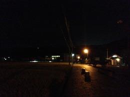 【韮山城】夜の韮山城。何も見えませんがw