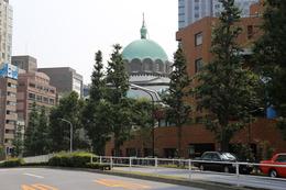 【コンドル】神田駿河台(御茶ノ水駅の南側)にあるニコライ堂。<br>この日は、江戸城外堀がテーマだったので、撮影だけして立ち去った。