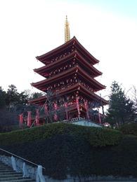 【高幡城】五重塔