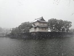 【江戸城】雪の巽櫓