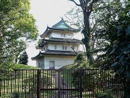 【江戸城】富士見櫓。江戸城に残る3つの櫓の1つ。かつて太田道灌が築いた静勝軒の故地に江戸城の富士見櫓が建っているという。静勝軒は道灌の軒号でもある。