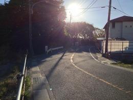 【新井城】内の引橋。