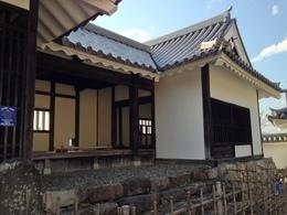 【福知山城】銅門番所。現在、本丸にあるが、江戸時代は二の丸の北西にあったらしい。