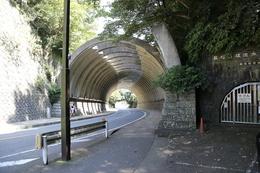 【鎌倉城】建長寺から東に歩くこと、2,3分。<br>      かつての巨福呂坂切通しの近くを通るトンネルがある。<br>      このトンネルの南側がかつての巨福呂坂切通し。<br><br>      土砂崩れで、現在は途中までしか進めない。