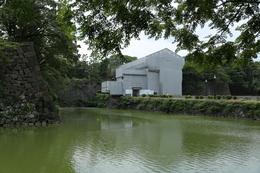【江戸城】田安門に続いて、清水門も改修中だった。<br>      清水門は、北の丸に東側から出入りする門。