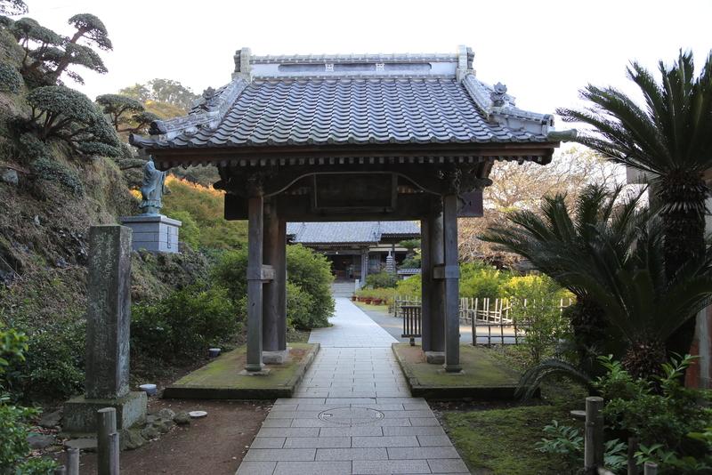 <p>下田の了仙寺。<br>1854年、日米和親条約が締結された寺。</p>
