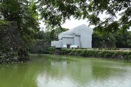 【江戸城】改修中の清水門。
