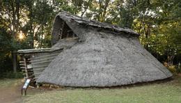 【大塚遺跡】南西の竪穴住居。