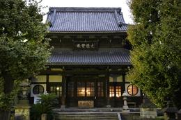 弘福寺。<br><br>若き日の勝海舟は、浅草新堀の島田虎之介の道場で剣を学び、弘福寺に参禅した。