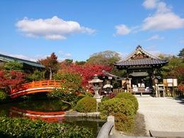 <神泉苑><br>平安京造成時から現存するパワースポット<br><br>【祇園御霊会】<br>869年東北地方に巨大地震と津波が押し寄せ、京都では疫病が流行していた。<br>この時、当時の日本の国の数である66本の鉾を立て、神輿を送って、平安を祈った。<br>これが「祇園祭の起源」と言われる。<br><br>【逸話】<br>・弘法大師が雨乞いをし、見事雨をもたらした。<br>・同じく雨乞いの儀式にて、源義経が舞を奉納する静御前を見染めた。