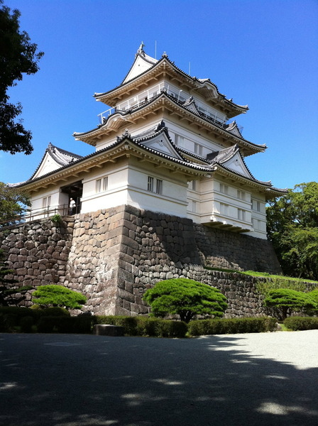 小田原城の模擬天守