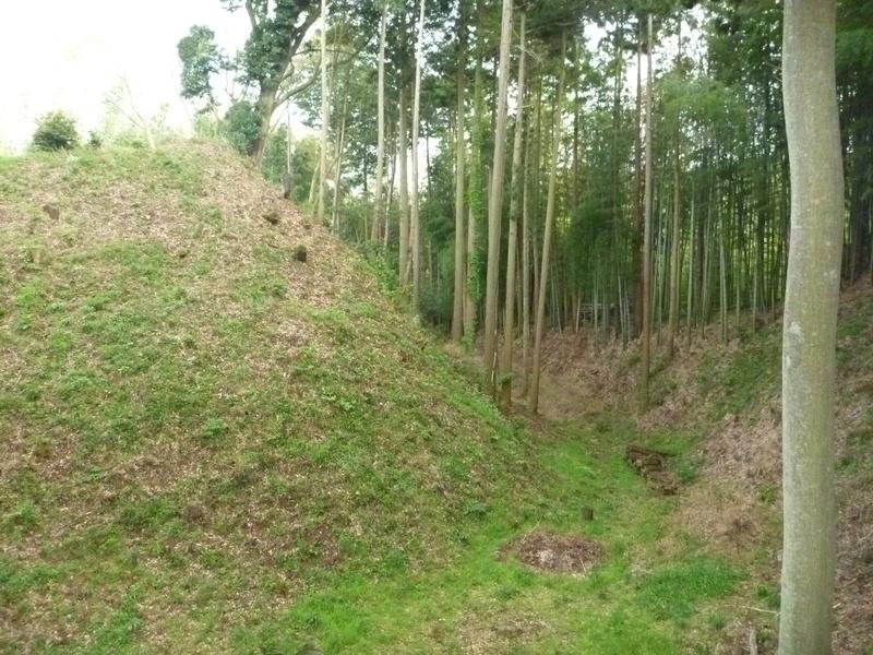 本佐倉城のセッテイ空堀