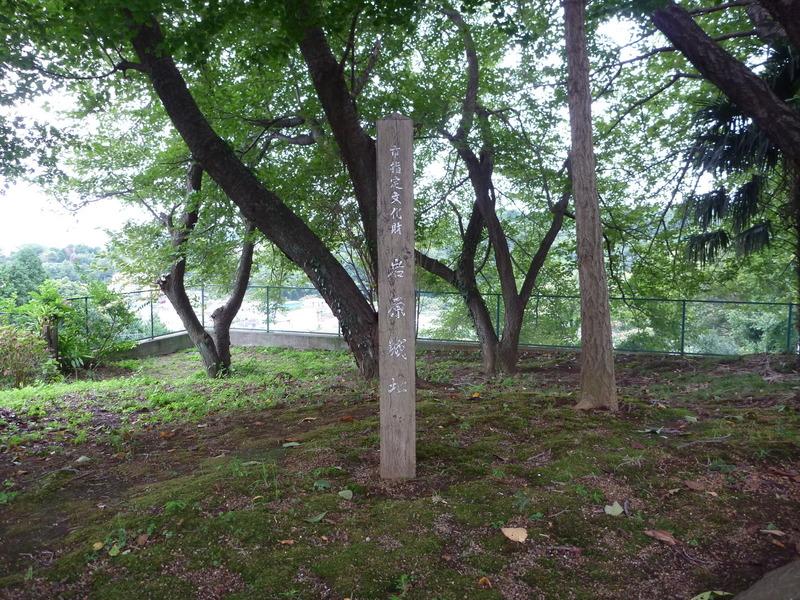 岩原城の標柱