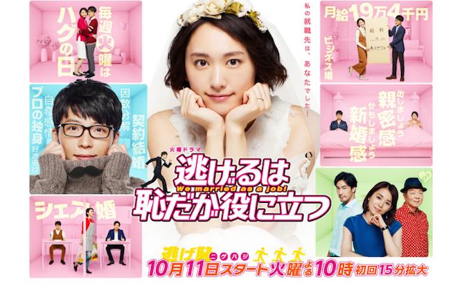 電視劇『月薪嬌妻』是以日本的派遣員工,和年紀大卻沒有戀愛經驗等等的社會問題為題材的戀愛喜劇。