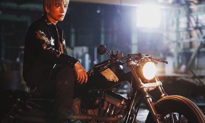 三代目JSB岩田剛典がワイルドにバイクを乗り回す!映画『HiGH&LOW THE MOVIE』の完成披露試写会が本日開催