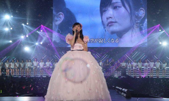 渡辺美優紀卒業コンサート「最後までわるきーでゴメンなさい」ドレス