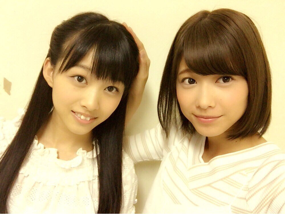 「姐妹」搭档的渡边理佐与原田葵。