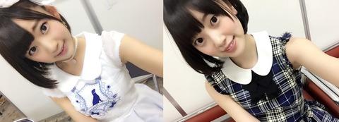乃木坂46成员堀未央奈和HKT48成员宫胁咲良很相像?左边是宫胁,右边是堀。能分清了吧。