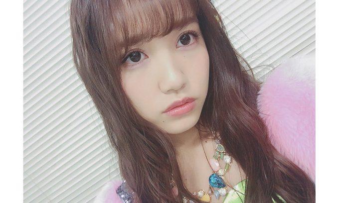 ピンクのほわ宝石の加藤玲奈