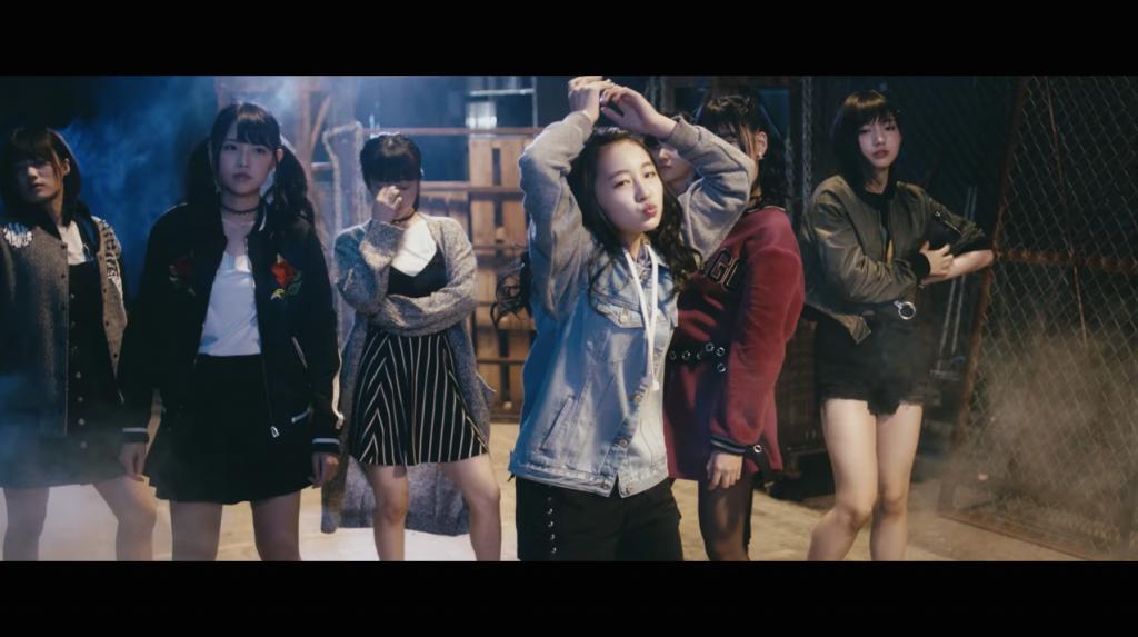 NMB48 16thシングル「僕以外の誰か」の公式MVより。メインポジションに抜擢された5期生の山本彩加。
