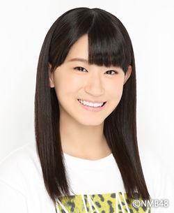 NMB48上西恵的亲妹妹上西怜。作为5期生的研究生活动着。