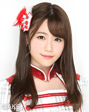 隶属AKB48 team4的込山榛香。在猜拳大赛中获得第三名。