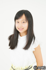 「第2回AKB48グループ ドラフト会議」参加当時の影山優佳。当時は13歳の中学1年生であった。