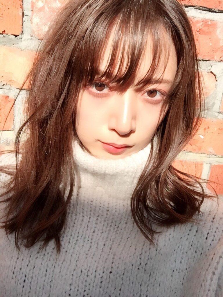 時尚雑誌《Cancam》攝影中的奈奈未。
