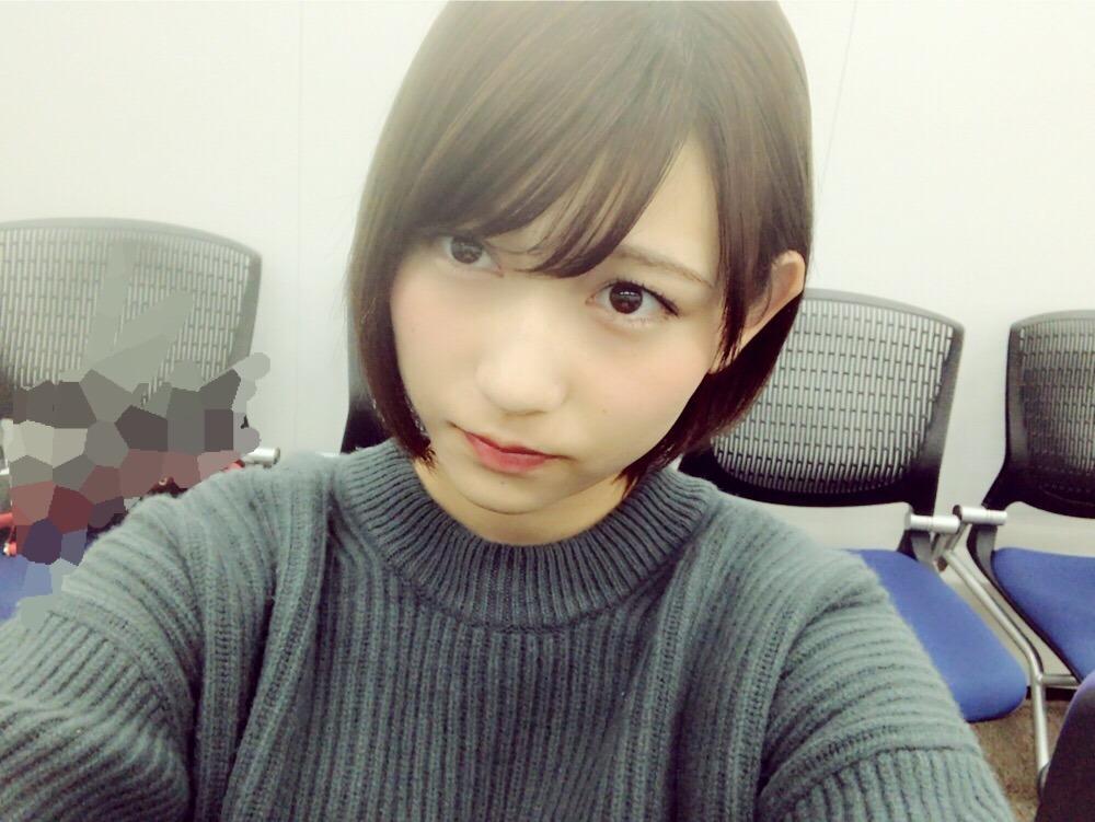 [发型①]齐肩短发的志田爱佳