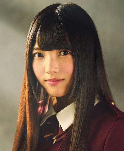 欅坂46的上村莉菜。