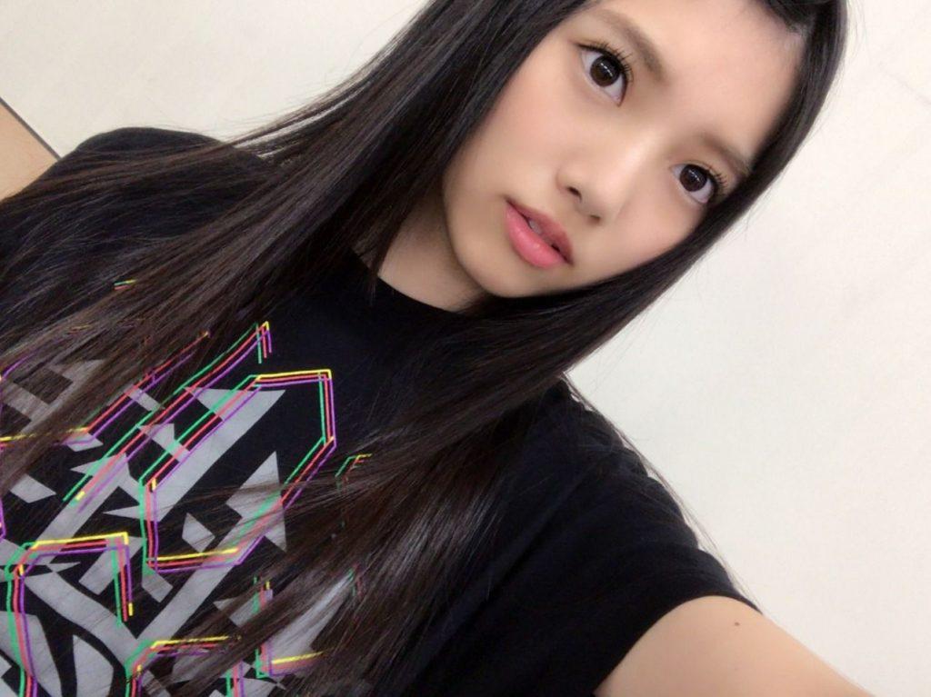 喜欢自然妆的欅坂46上村莉菜。