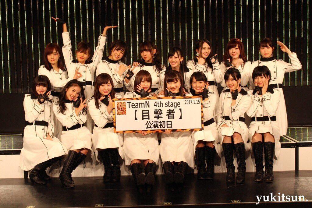 今月より新体制が発足したNMB48 チームNの劇場公演「目撃者」が初日をむかえた。