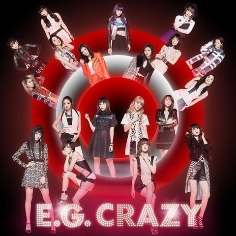 E-girls 新專輯《E.G. Crazy》通常版