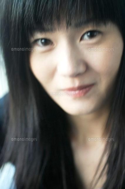 黒髪の日本人女性[00693010950]| 写真素材・ストックフォト・画像 ...