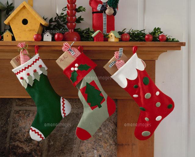 クリスマス 靴下 イラスト かわいい