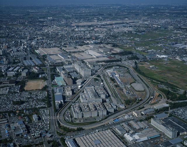 トヨタ自動車本社工場の風景 空撮[01260011413]  写真素材 ...