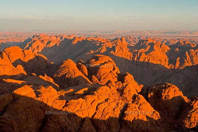 シナイ山の朝 エジプト(c)MASAO ...